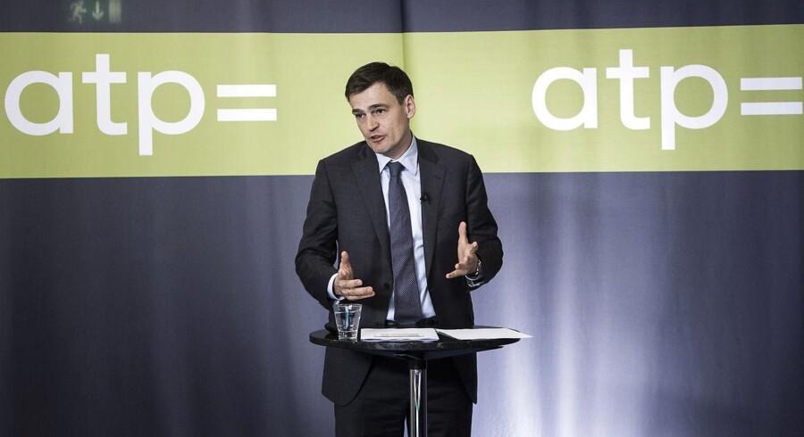 Carsten Stendevad, topchef for ATP.
