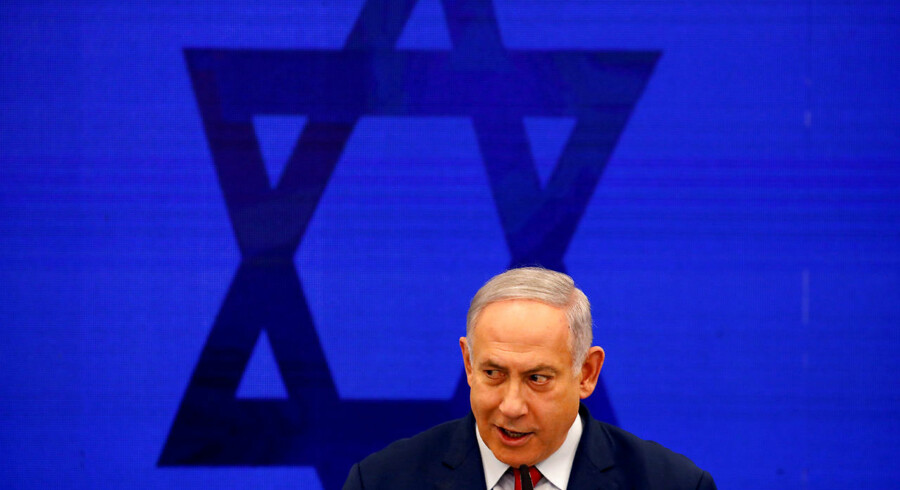 Israels premierminister Benjamin Netanyahu.