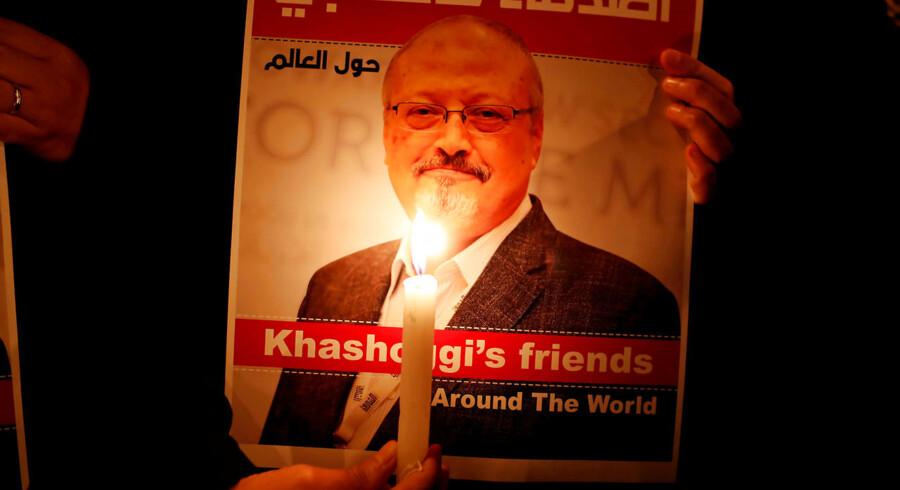 Jamal Khashoggi blev dræbt 2. oktober 2018, da han besøgte Saudi-Arabiens konsulat i Istanbul.
