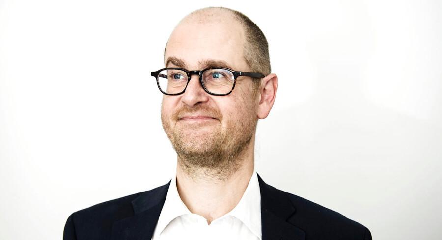 Mads Lundby Hansen har været med til at placere Cepos tydeligt i debat-landskabet. Foto: Niels Ahlmann Olesen / Ritzau Scanpix