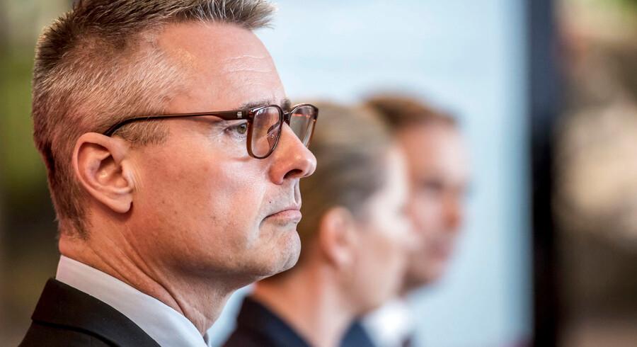 Henrik Sass Larsen har været en drivende kraft i tre partiformænds valgkampe.