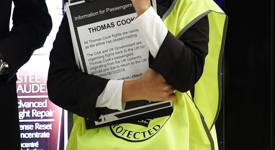 Anslået 600.000 rejsende er blevet ramt Thomas Cooks konkurs.