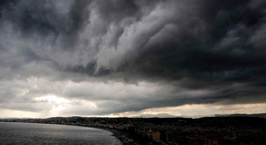 De sorte skyer over den europæiske økonomi har bredt sig mere end frygtet. Foto: Valery Hache/AFP/Ritzau Scanpix