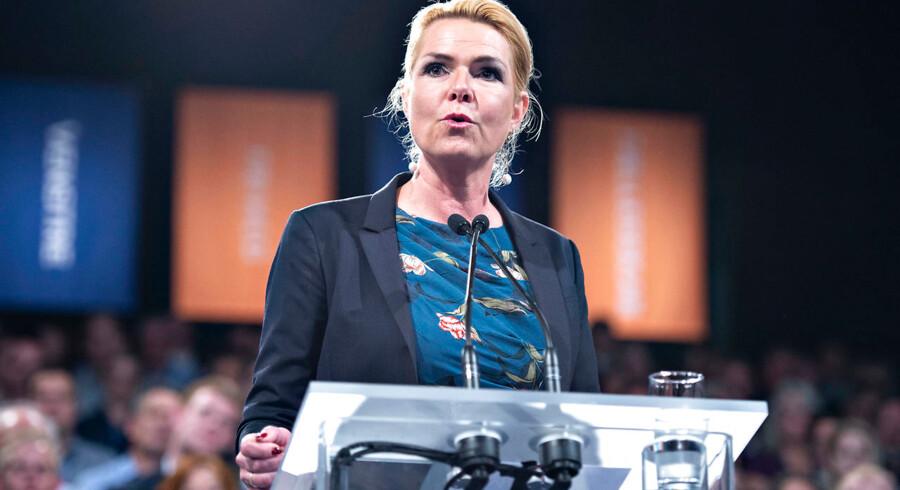 Inger Støjberg fortsætter som Venstres retsordfører.