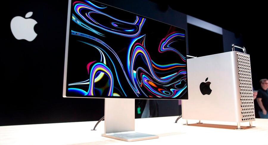 Sommeren har været præget af en eskalerende handelskrig mellem USA og Kina. Nu får Apple et mindre pusterum, efter at virksomheden i længere tid har arbejdet på at blive undtaget fra straftold. Arkivfoto: Brittany Hosea-Small/AFP/Ritzau Scanpix