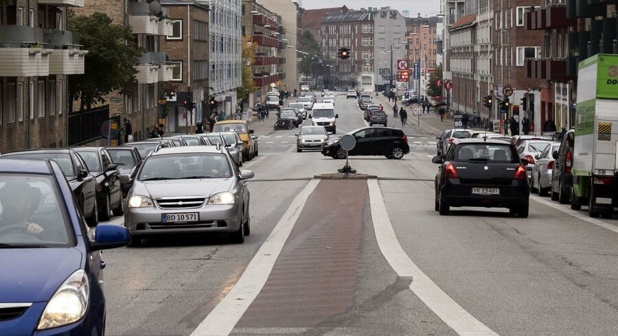 Frederiksborgvej indbyder ifølge Bispebjerg Lokaludvalgs formand til, at bøller giver deres muskelbiler fuld gas.