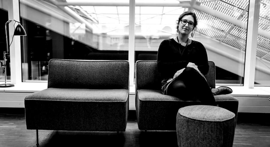 Belgiske Frances Van de Vel er en af de mange højtuddannede udlændinge i København, som kommunen vil gøre en indsats for, så hun og andre ikke forlader Danmark igen.
