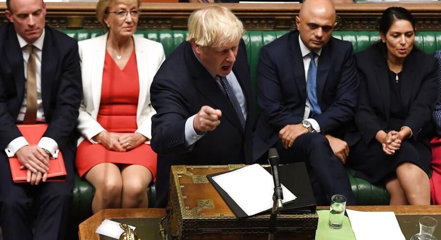 Der var nok politisk kaos i denne uge til at sende aktierne på glatis. Både Boris Johnson og Donald Trump møder modvind derhjemme.