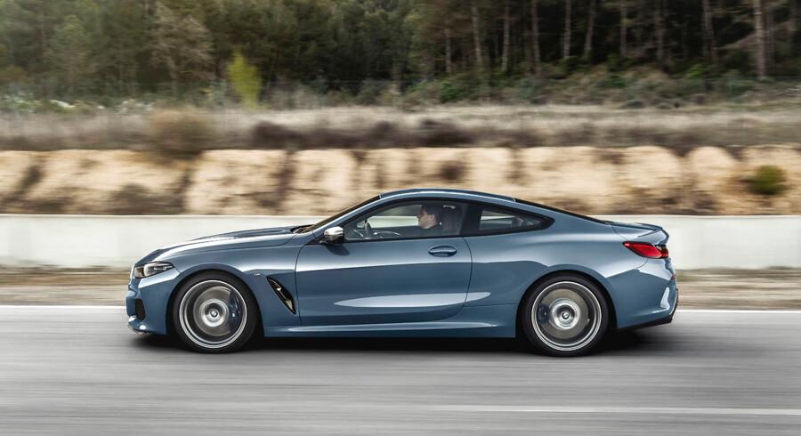 Køredynamisk er M850i så skarp som en bil på to ton kan blive. Men den er ikke så sjov som en BMW M2 Competition.