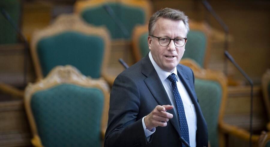 »Bødskov erklærer, at han vil tilføre skattevæsenet 1,5 mia. kr. i 2020 og de kommende fire år. Et nøjere kig på finansloven viser, at det er et eksempel på en politisk uvane med at puste tallene op,« skriver Ole P. Kristensen.