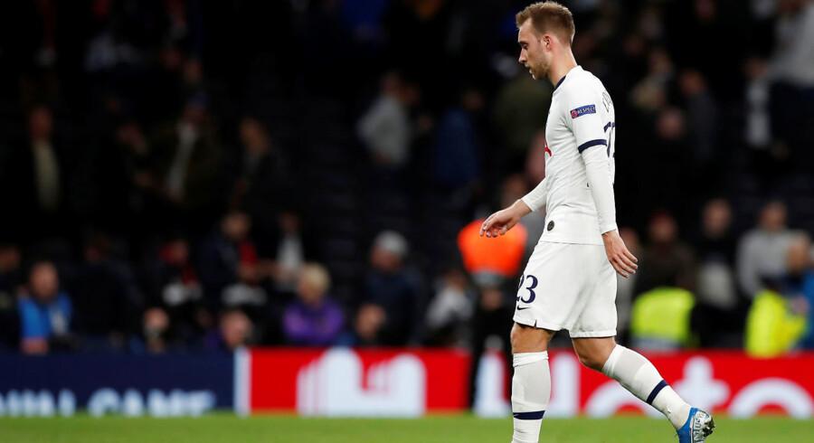 Da Christian Eriksen i tirsdags kom på banen, var Tottenham Hotspur allerede bagud 2-4 hjemme mod Bayern München i Champions League-gruppespillet – men det skulle blive meget, meget værre.