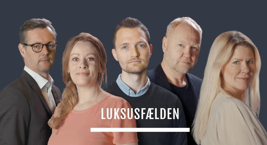 »Luksusfælden« er faktisk skræmmende god, kommerciel public service,« skriver Torben Steno.