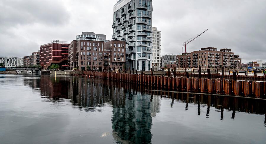 Der har tidligere været frygt for, at voldsomme prisstigninger opbyggede en boligboble på lejligheder i de største byer.