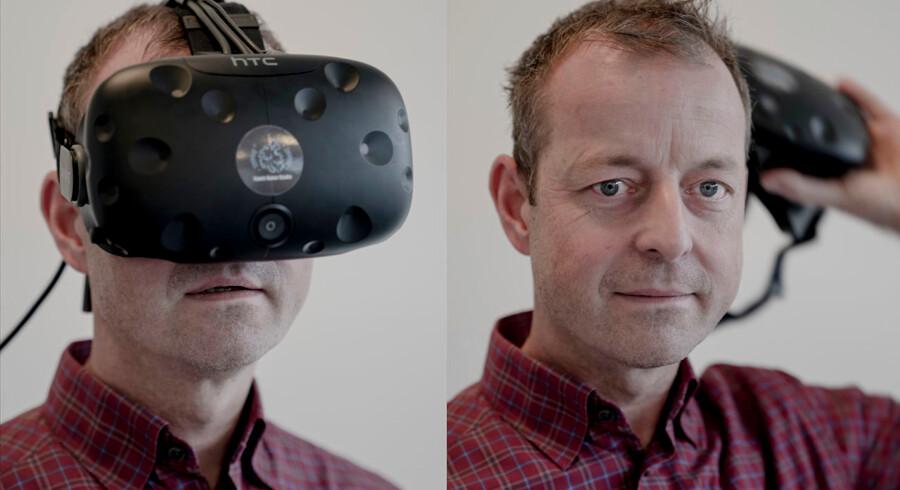 Tim Monrad Larsen er partner og CEO i Replay Institute, der har udviklet software, som betyder, at al data fra en fodboldkamp kan samles i en virtuel verden.