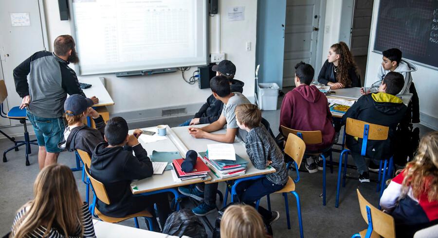 Folkeskoleelever i København får bedre eksamensresultater ved 9. klasses afgangseksamen end landsgennemsnittet.