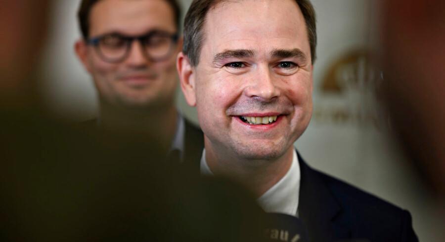 Finansminister Nicolai Wammen (S) vil udstyre sit ministerium med en ny grøn regnemaskine for at få overblik over den grønne omstilling, som skal rulles ud i de kommende år.