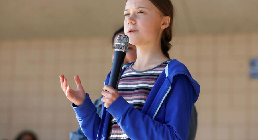 »Jeg er dybt imponeret over, at en 16-årig pige har formået at skabe en så stor bevægelse omkring et så vigtigt emne som klimaet og miljøet.«