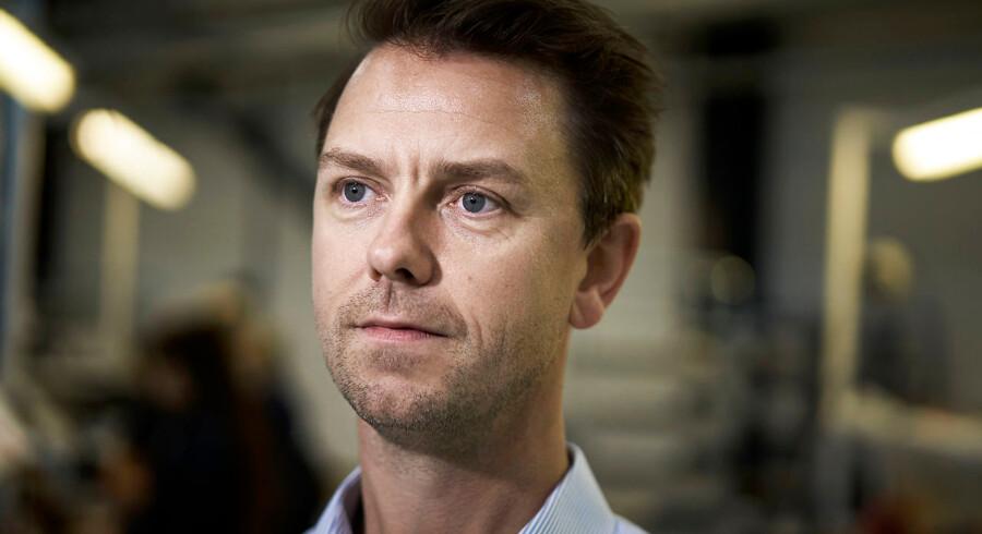 Nicolai Grube Rosen, direktør i Anticimex, mangler for tiden fem ingeniører.