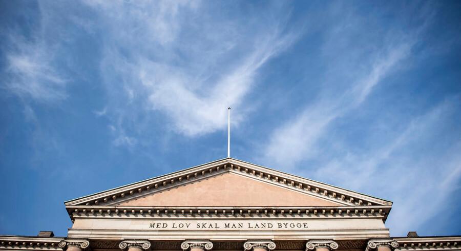 Arkivfoto: Efter et år på flugt blev et 24-årigt bandemedlem fredag i et grundlovsforhør i Dommervagten i København varetægtsfængslet i fire uger, sigtet for grov vold.