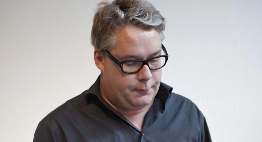 Simon Andersen er den daglige indpisker på Berlingskes redaktion. Her fanget i et mere roligt øjeblik.