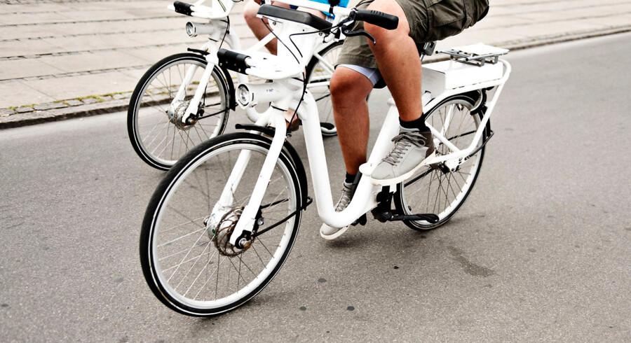 I dag sker der stadig flere ulykker med elcykler. (Foto: Mathias Løvgreen Bojesen/Ritzau Scanpix)