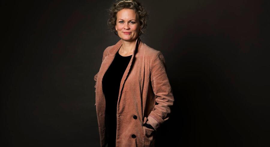 Sarah Iben Almbjerg – vært på podcasten »Emma Gad – For Evigt«.
