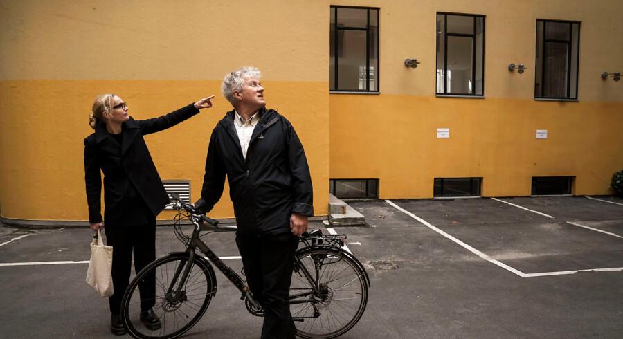 Arkitekturskribent Holger Dahl og arkitekt Marie-Louise Høstbo.