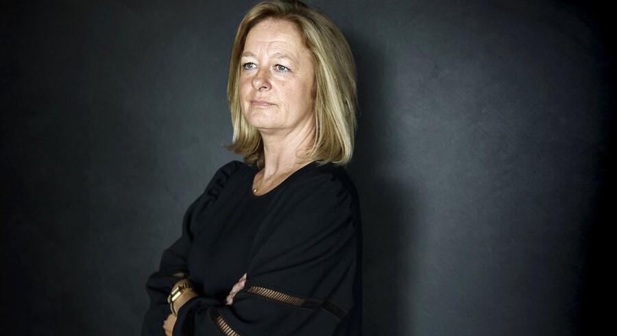 Allison Kirkby overtog ledelsen af TDC i Danmark efter ejerskiftet i 2018 men nævnes nu som storfavorit til topjobbet som koncernchef i Telia. Arkivfoto: Niels Ahlmann Olesen