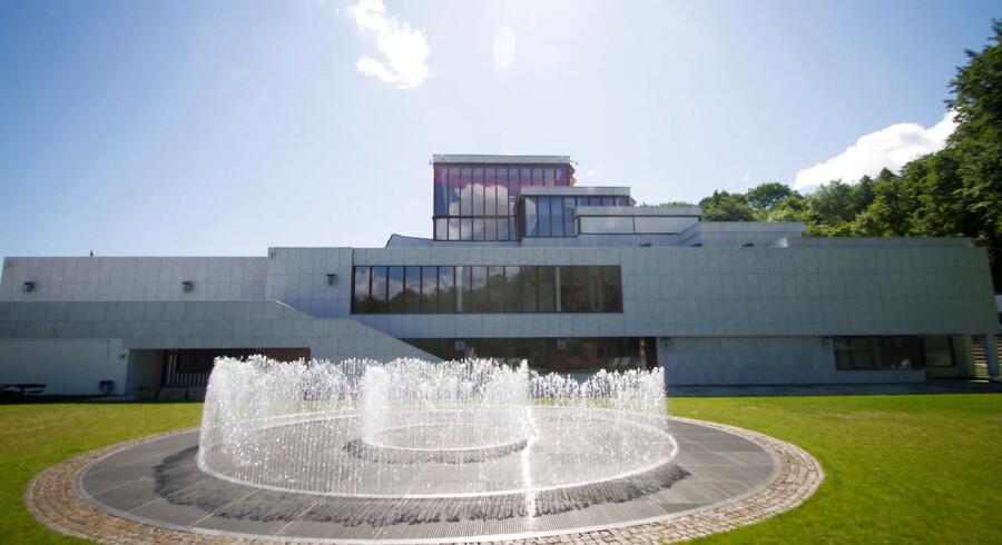 Kunstmuseet Kunsten i Aalborg, tegnet af den finske mesterarkitekt Alvar Aalto. Foto: Mathies Brinkmann Jespersen