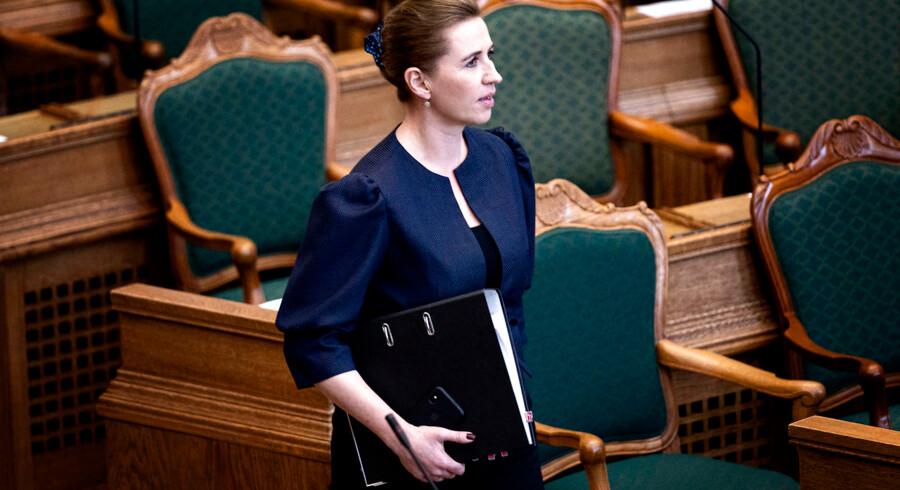 Statsminister Mette Frederiksen (S) er kommet på kant med sine støttepartier efter en opsigtsvækkende udtalelse om konventioner. »Dybt, dybt bekymrende« og »dobbeltmoralsk og nærmest hyklerisk«, lyder kritikken.