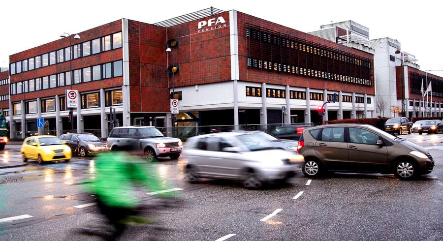 Danskerne sparer mere op til pension end nogensinde før. Det mærker man blandt andet hos PFA.