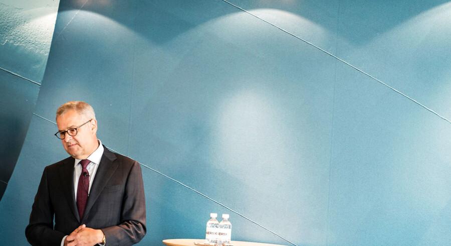 Mærsk endte i toppen af C25-indekset. Her CEO Søren Skou.