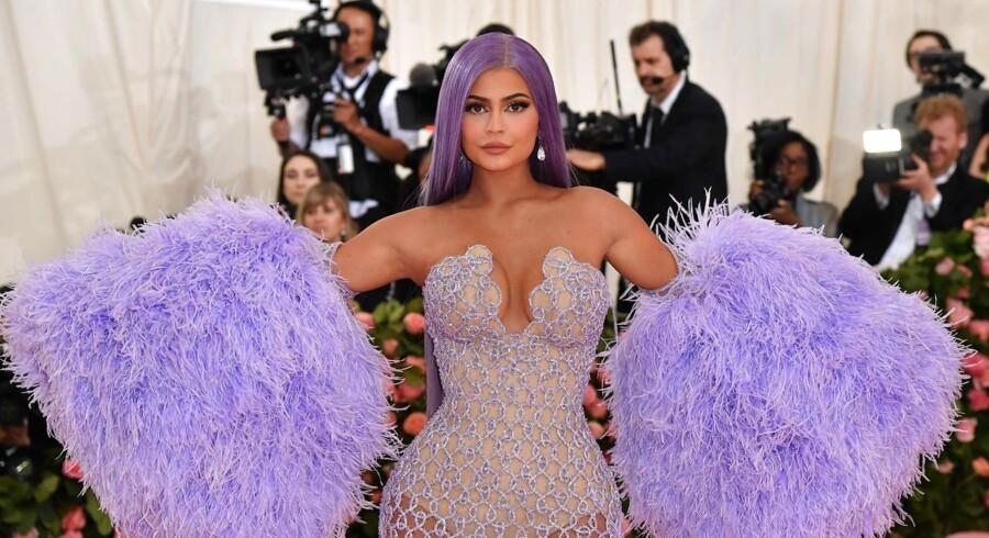 Kylie Jenner har solgt 51 procent af sin virksomhed Kylie Cosmetics, som hun grundlagde for fire år siden, til kosmetikfirmaet Coty. Arkivfoto: Angela Weiss/AFP/Ritzau Scanpix