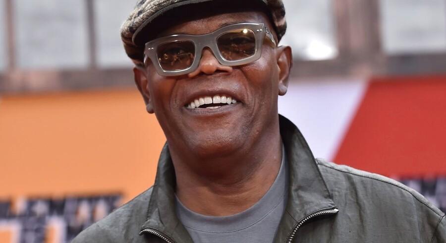 Samuel L. Jackson spiller en af hovedrollerne i filmen »The Banker«, som Apple nu har trukket midlertigt tilbage.