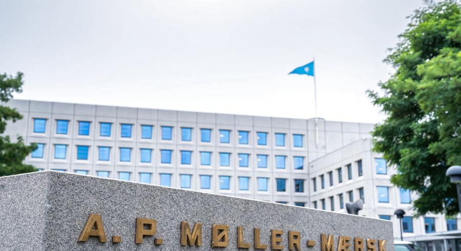 Arkivfoto: A.P. Møller-Mærsk på Esplanaden i København.