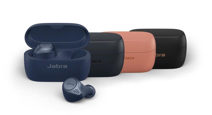 De nye Jabra Elite 75t er takket være ny teknologisk indmad blevet 22 procent mindre end forgængeren. Alligevel er batterilevetiden blevet længere.