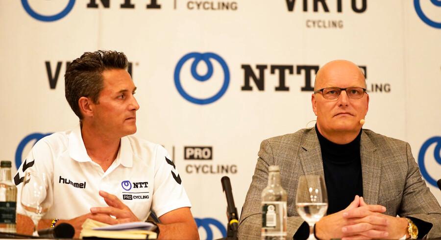 Bjarne Riis, medejer af Virtu Cycling, bliver ny team manager for World Tour-holdet NTT. - Foto: Liselotte Sabroe/Ritzau Scanpix