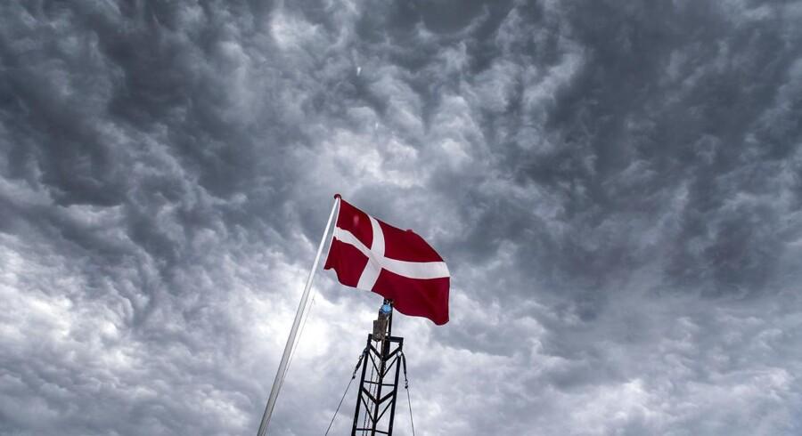 Fremtidens danske vintervejr synes allerede at være over os. Det vil sige gråt, regnfuldt, blæsende og plusgrader.