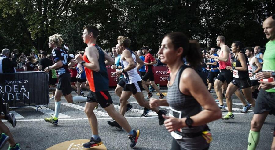 Det er aldrig for sent at få noget godt ud af et maratonløb. Arkivfoto: Sarah Christine Nørgaard/Ritzau Scanpix