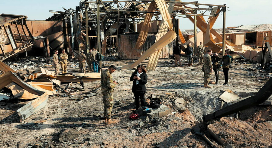 Iran angreb den amerikanske militærbase i Irak med missiler midt om natten 13. januar. Nu er det kommet frem, at mindst 34 amerikanske soldater blev skadet i angrebet.