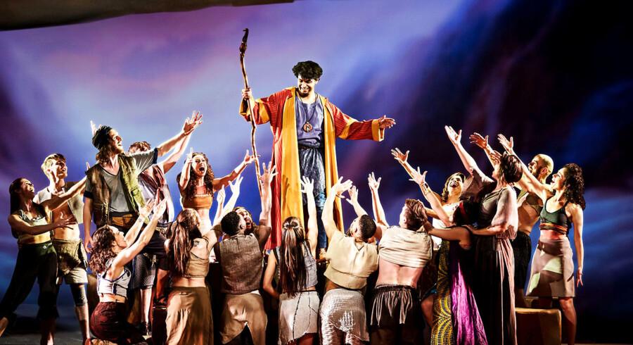 Det er blandt andet forestillingen »Prinsen af Egypten«, der ikke har solgt nok billetter i forhold til det budgetterede. Det resulterer nu i et underskud på 20. mio. kr. på Fredericia Teater.