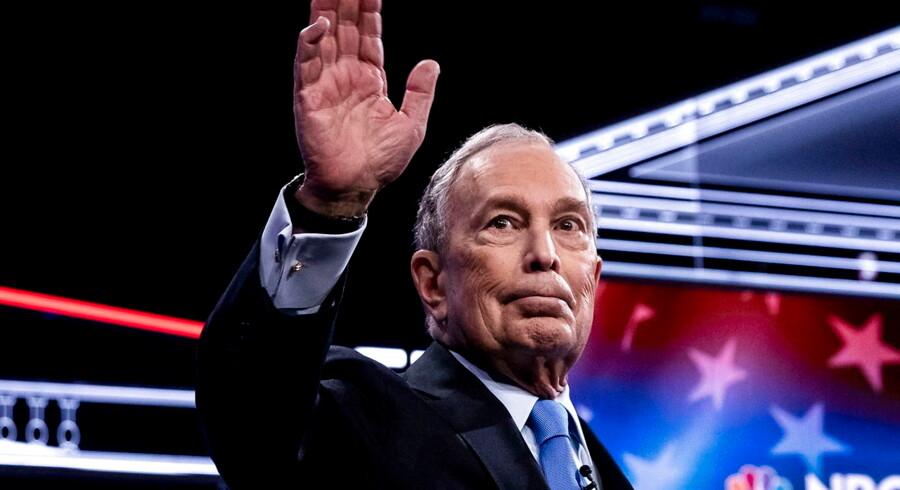 Arkivfoto: Multi-milliardæren Michael Bloomberg .