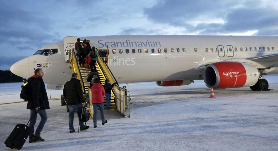 SAS indstillede sidst i januar de første af sine flyvninger til og fra Kina på grund af coronavirussen og har forlænget flyvestoppet frem til 29. marts.