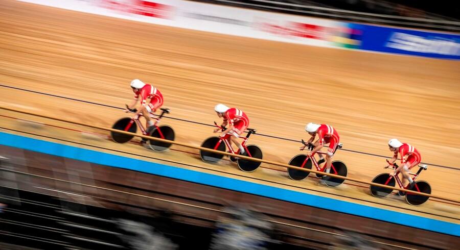 Danskerne fløj henover gulvet og satte verdensrekord ved VM i Berlin.