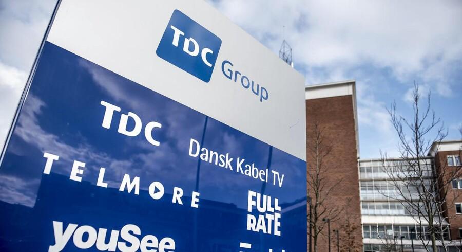 TDC-koncernen har hovedsæde på Teglholmen i Københavns sydhavn. Der vil fremover være færre, der møder ind på arbejde.