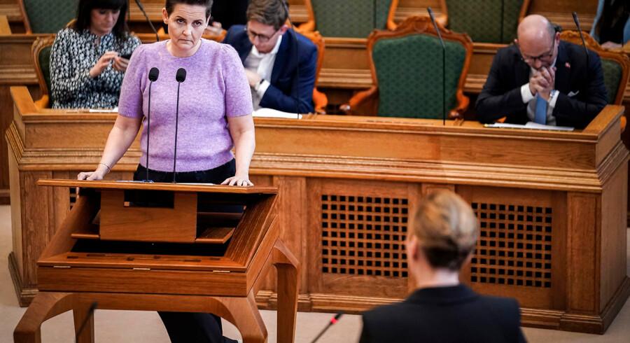 SF vil have regeringen til at tilslutte sig et forstærket samarbejde mellem EU-lande om en finansskat. »Vi har da en forventning om, at de lytter til vores krav,« siger hun.