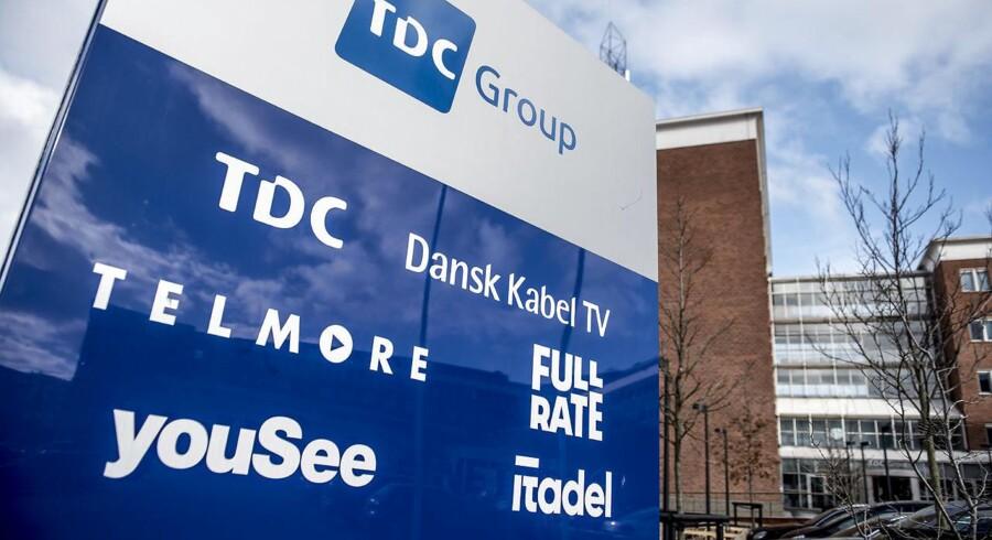 Der er tomt i TDCs hovedkvarter på Teglholmen i Københavns sydhavn. Den nye topchef nåede kun at have foden indenfor i to uger, inden næsten alle blev sendt hjem