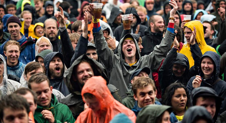 Roskilde Festival 2020 må aflyses, fordi regeringen forbyder festivaler og markeder til og med august måned. Billedet er fra Roskilde Festival 2017.