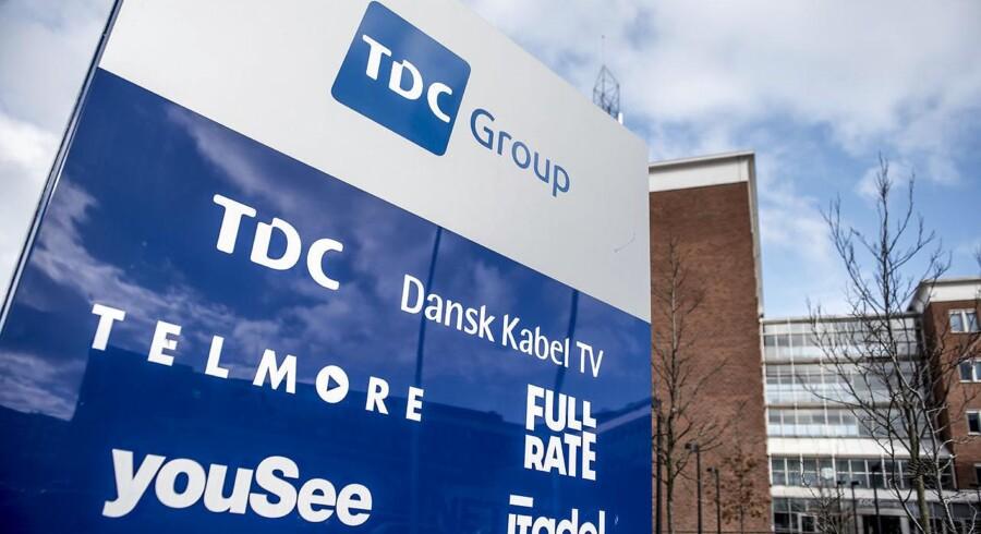 TDC-koncernen med hovedsæde på Teglholmen i Sydhavnen i København er Danmarks største på alle fire hovedområder – fastnettelefoni, mobiltelefoni, TV og internetforbindelser – og den sidste af de fire store, som har aflagt regnskab for årets første tre måneder.