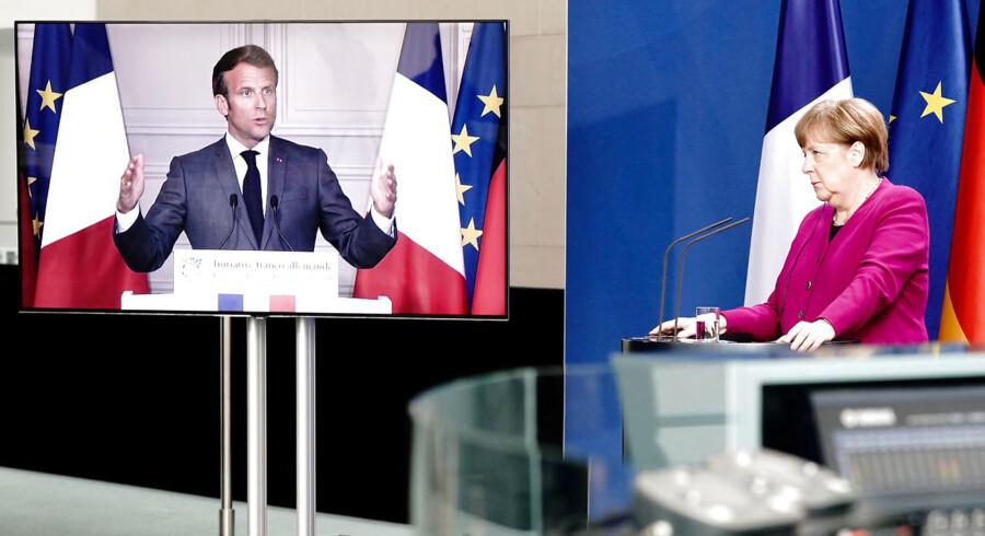 Én ting er, at Tysklands Merkel og Frankrigs Macron nu er blevet enige om en genopretningsplan for Europa. Noget andet er, om de øvrige EU-lande også stiger om bord.